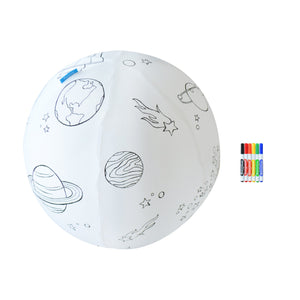 Color the Galaxy Inflatable Ball Kit