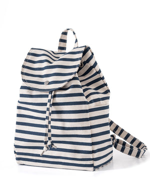Sailor Stripe Canvas Backpack