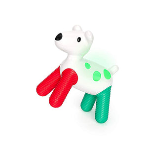 Kid O Hudson Glow Puppy Rattle Toy