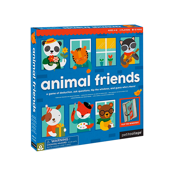 Knock Who's There Animal Friends Board Game