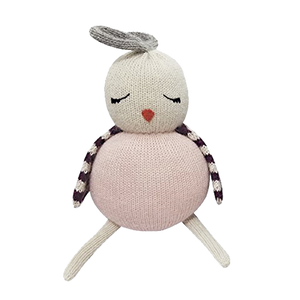 Birdie Rose Knitted Stuff Plush Toy