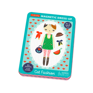 Cat Fashion Magnetic Figures