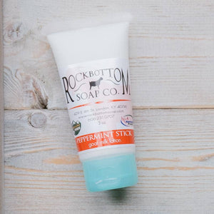 Rock Bottom Soap - Goat Milk Lotion Squeeze Tubes