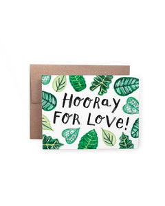 Handzy Shop + Studio - Hooray for Love Card