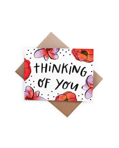 Handzy Shop + Studio - Thinking of You Card