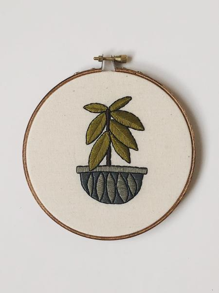 Rubber Tree Do it Yourself Embroidery Kit
