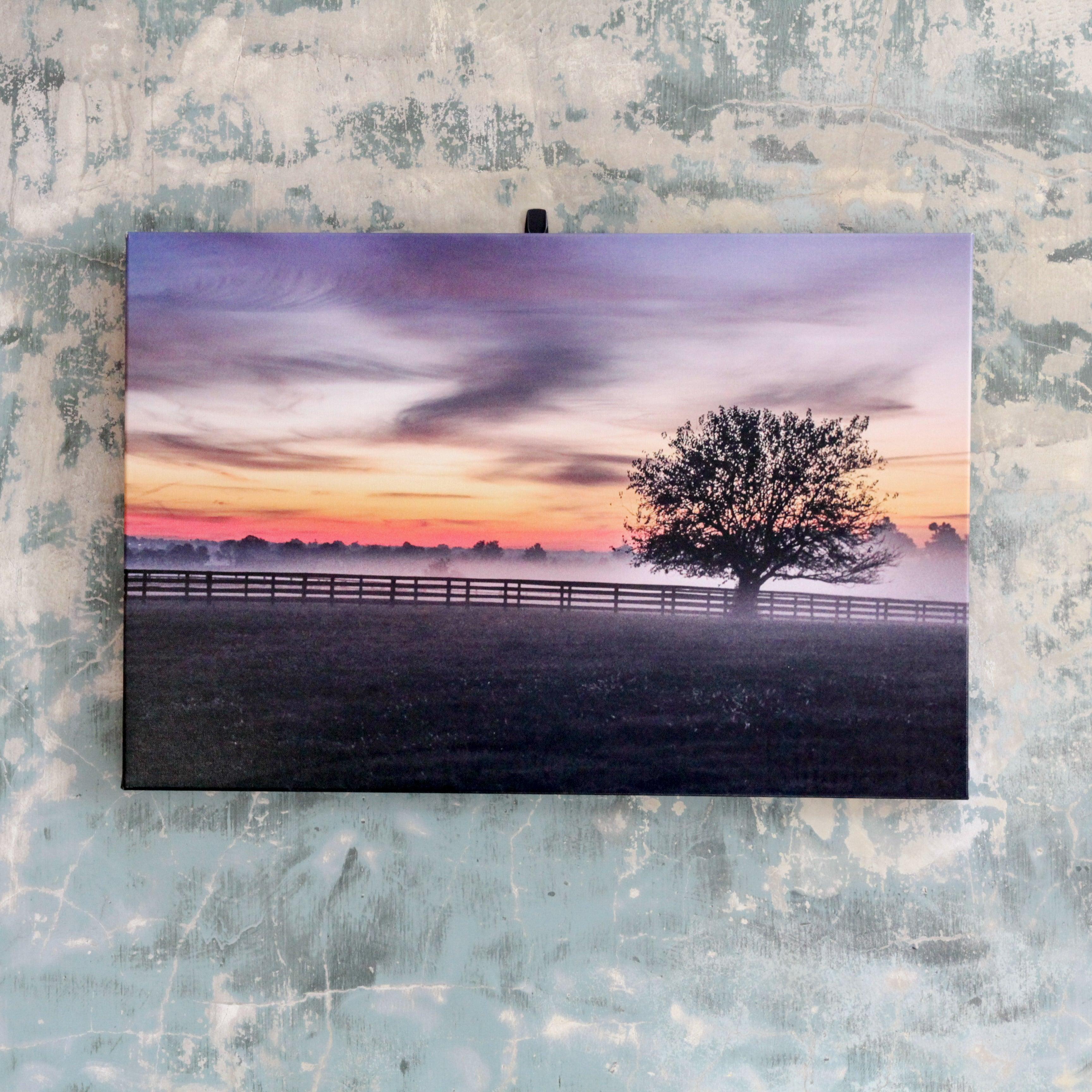 Kentucky Sunrise on Canvas