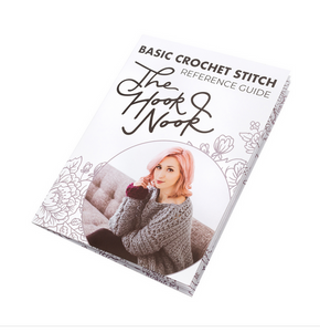 The Hook Nook Basic Crochet Stitch Reference Guide