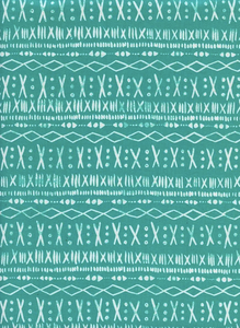 Print Shop - Stitch in Turquoise