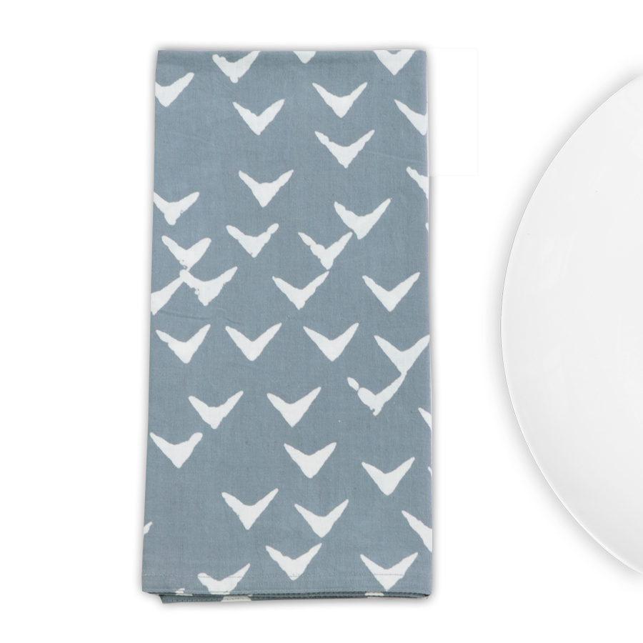Graymarket Design - Peck Fog Napkins - Set of 4