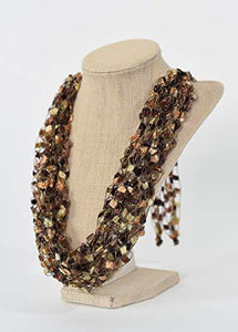Adjustible Necklace with Bead