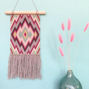 Dreams Wall Hanging Kit (Pink/Grey)