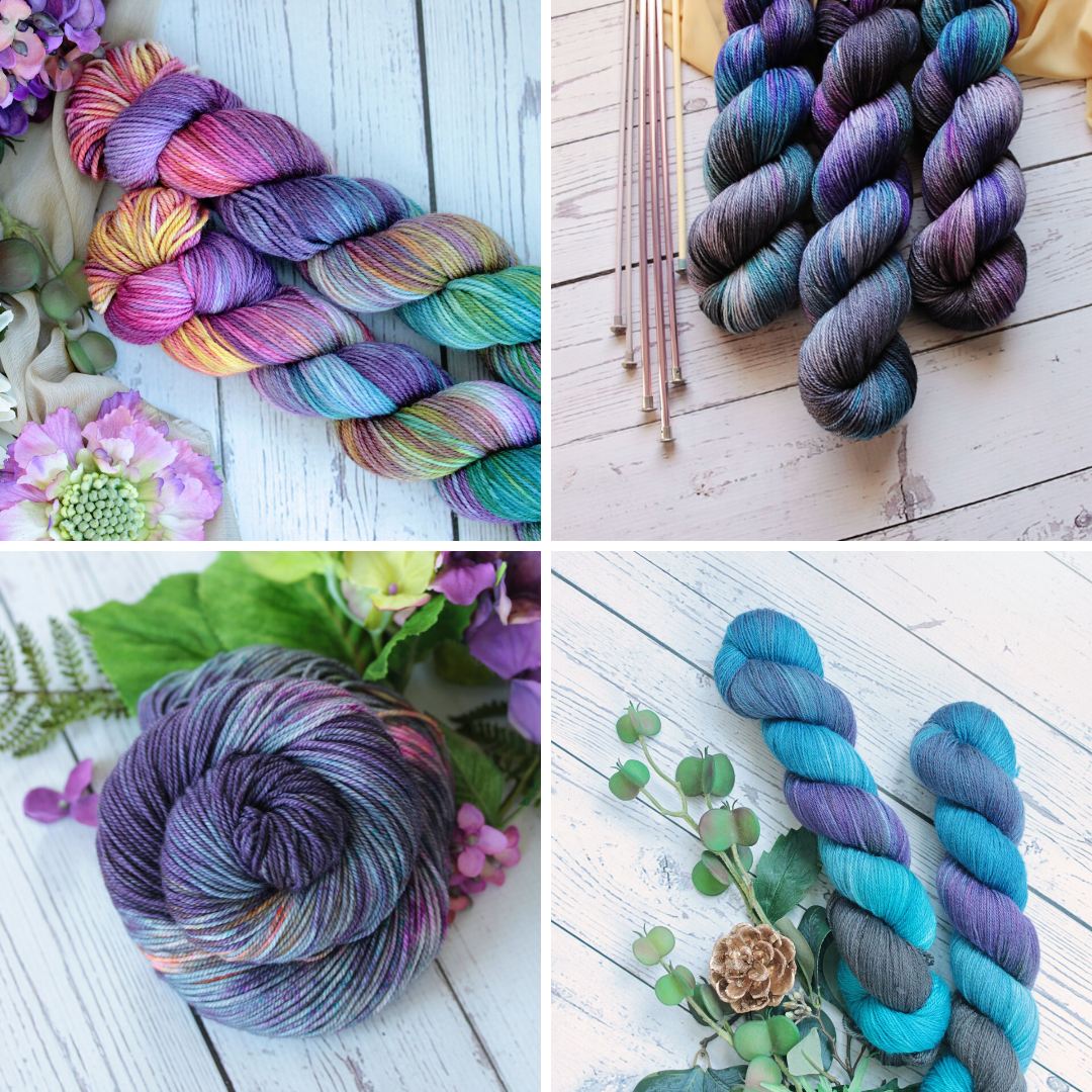 Yarn Love - Juliet Sock Yarn Pack - Starry Night Collection