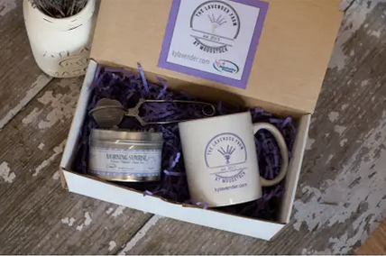 The Lavender Farm at Woodstock - Tea and More Gift Set