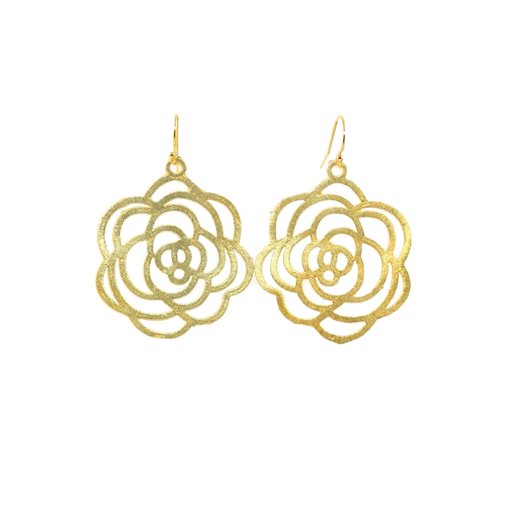 Rose Blossom Earrings