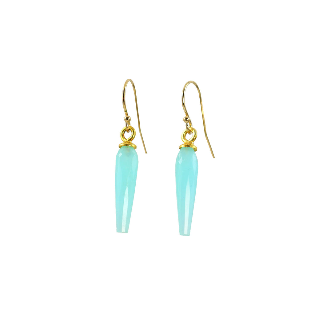 Amazonite Icicle Earrings