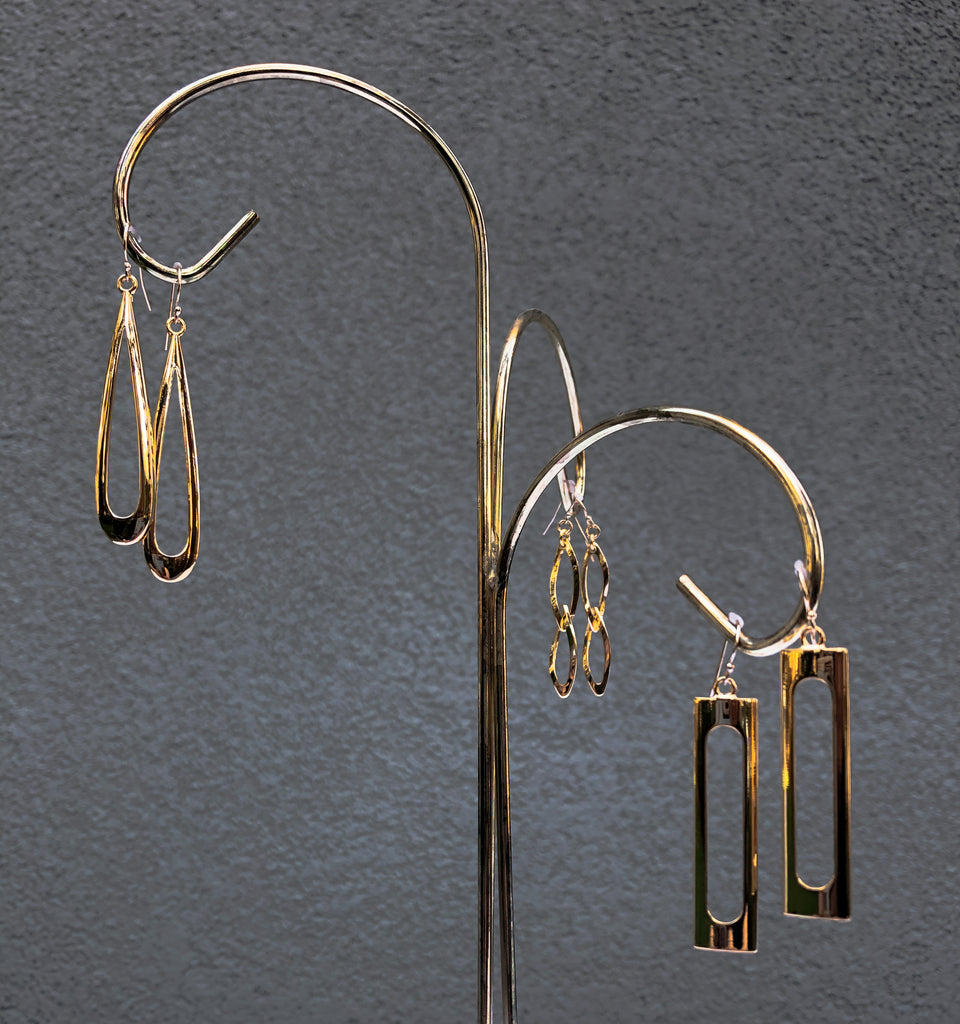 Double Marquise Earrings