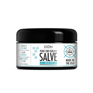 Zero In On Nutrition's CBD Winter Spice Salve - 1000 mg