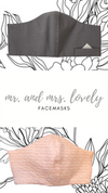 Mr + Mrs Lovely Facemask