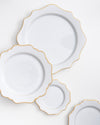 Houndstooth Bread + Butter Plate | Rent