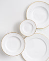 The Downton Bread+Butter Plate | Rent | Gold