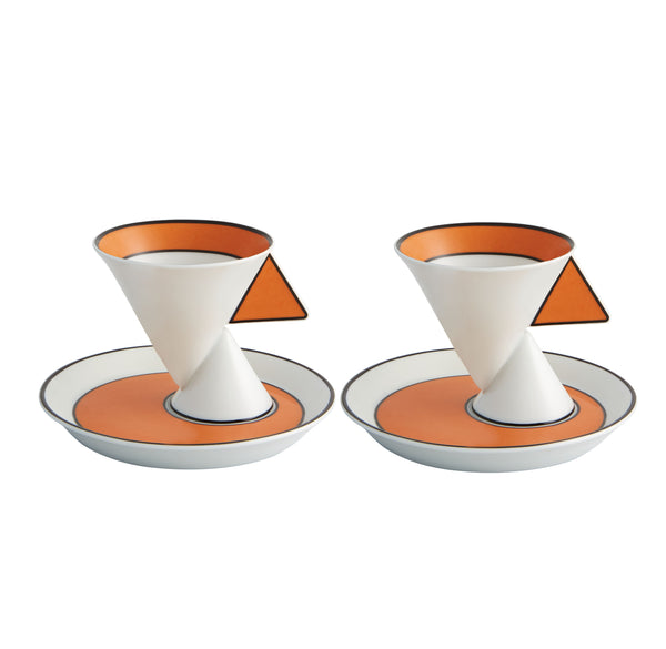Jazz Coffee Cups & Saucers