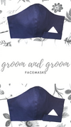 Mr + Mr Classic Facemask | Navy