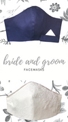 Mr + Mrs Classic Facemask | Navy
