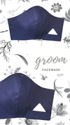 Mr Classic Facemask | Navy