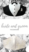 Mr + Mrs Dressy Facemask