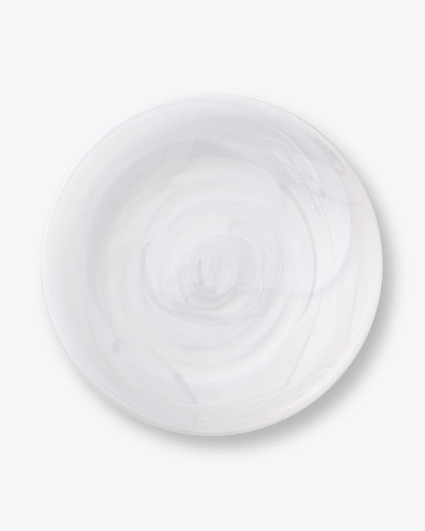 Alabaster Charger Plate | Snow