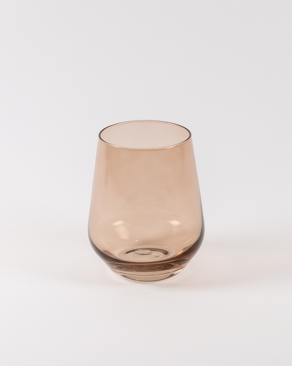Angelou Stemless Wine | Rent | Amber Smoke