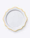 Anna's Antique Charger Plate | Gold