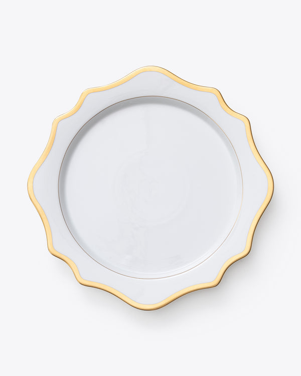 Anna's Antique Charger Plate | Rent | Gold