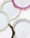 Anna's Palette Charger Plate | Purple Orchid