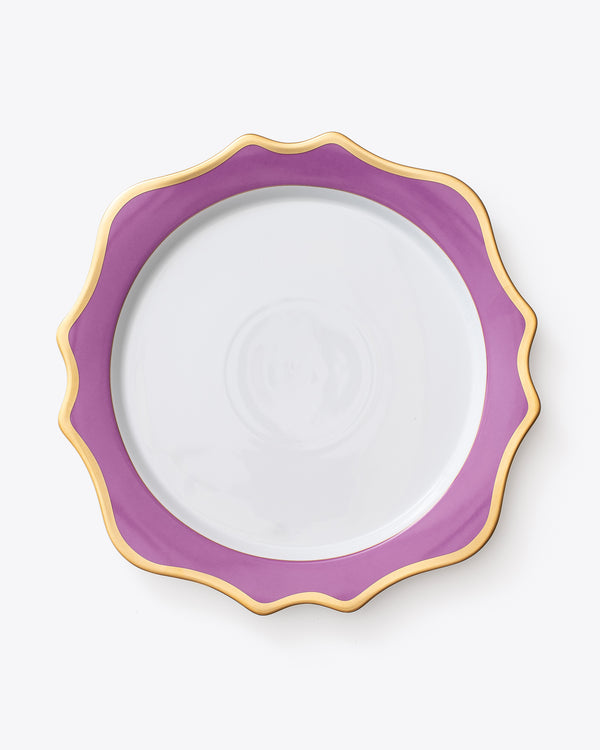 Anna's Palette Charger Plate | Rent | Purple Orchid