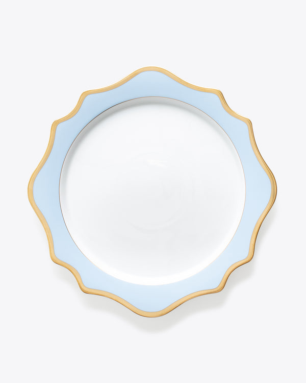 Anna's Palette Charger Plate | Rent | Sky Blue