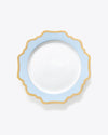 Anna's Palette Dinner Plate | Rent | Sky Blue