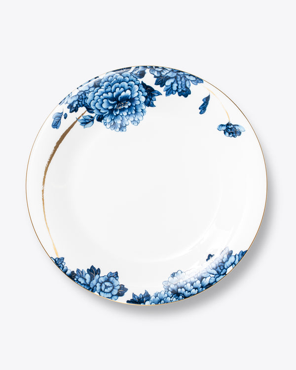Blue Dahlia Charger Plate