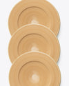 Brushed Charger Plate | Rent | Gold