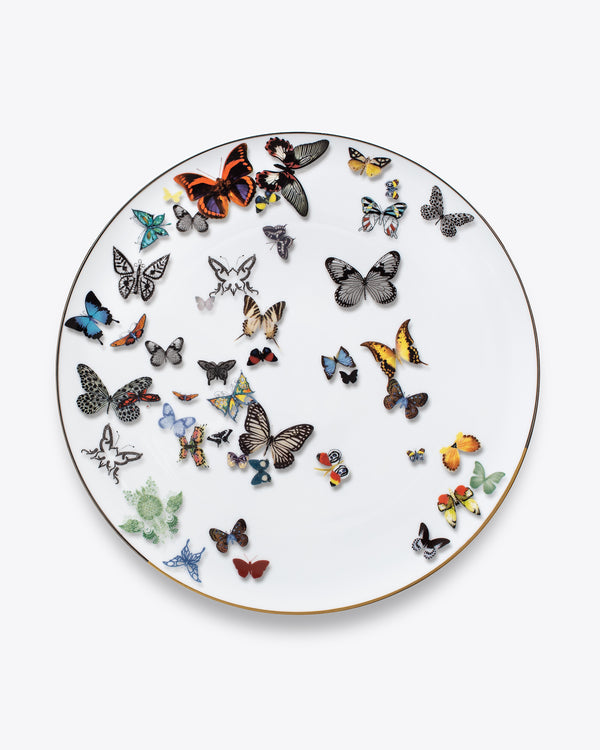 Butterfly Charger Plate | Rent