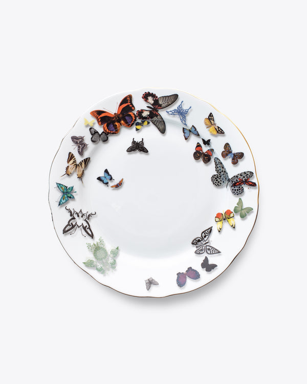 Butterfly Dinner Plate | Rent