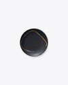 Eclipse Bread+Butter Plate | Black