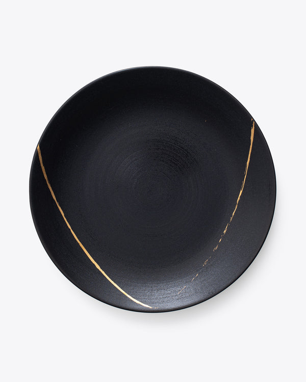 Eclipse Charger Plate | Rent | Black