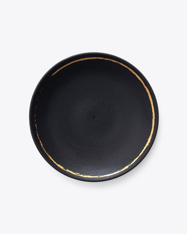 Eclipse Dinner Plate | Rent | Black