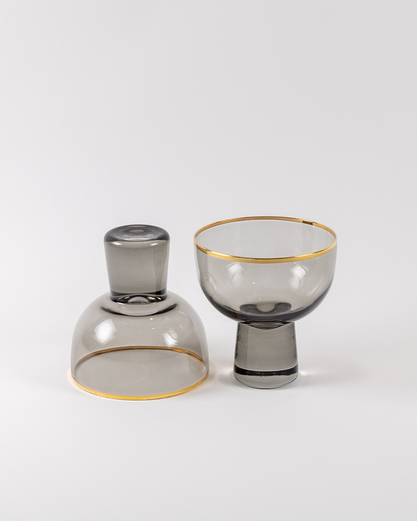 Fitzgerald Cocktail Set 2pc | Smoke