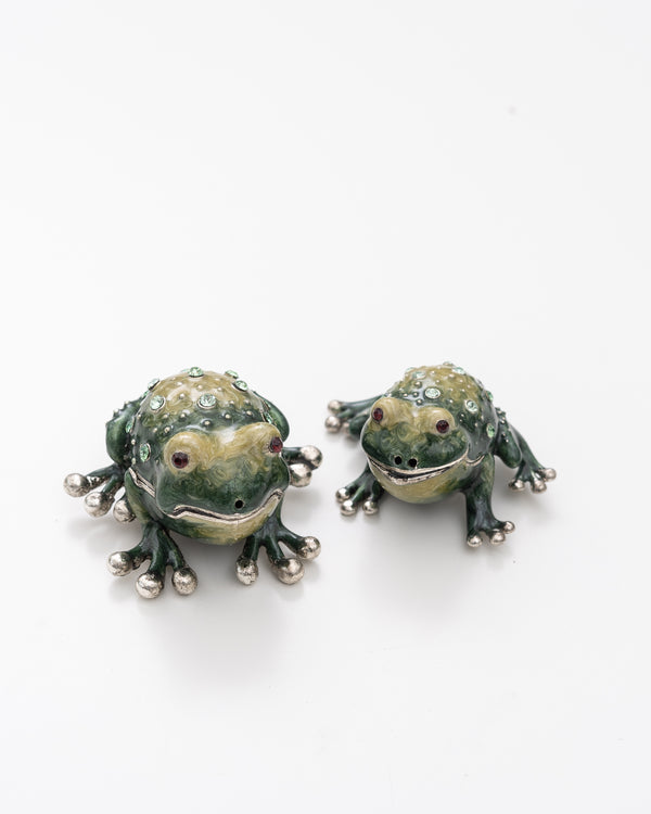 Frog Salt + Pepper Shaker
