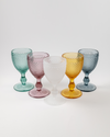 Frost Water Goblet Set 4pc | Amber