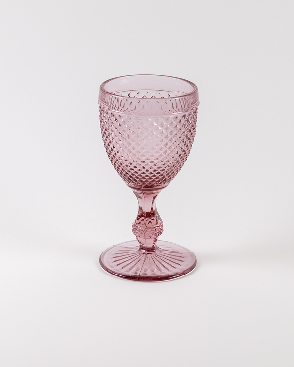Frost Water Goblet | Rent | Blush
