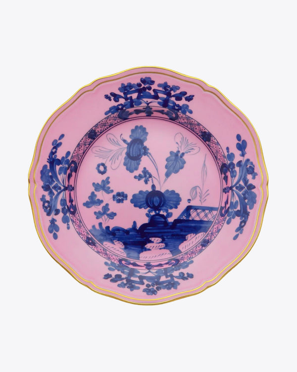 Giardino Azalea Charger Plate | Rent | Pink and Blue